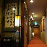 2階廊下。全館全室で無料WIFIがご利用いただけます。