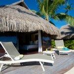 Manava Beach Resort & Spa Moorea - Beach Bungalow terrace