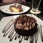 chocolate malt pie (it's huge!)