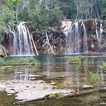 another angle of Hanging lake