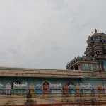 A view of the temple from the adjacent Ram Mandira