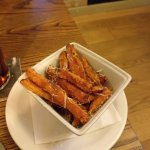 Sweet Potato and Parmesan Fries