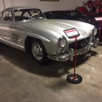 Gull wing Mercedes Benz