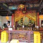Shrine at the Yuen Yuen Institute.