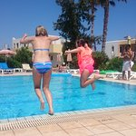 Brilliant quiet family run hotel. Perfect for our two girls who dislike crowded places. Nearby b