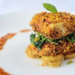 Lentil Crusted fish