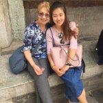 Susan our wonderful Beijing guide
