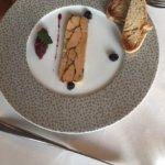 Foie gras was ok