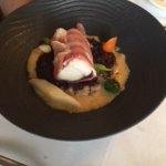 Monkfish with ham and risotto, was so so
