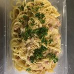 Spaghetti Cabonra, Lunch or Dinner Takeaway