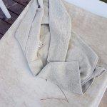 Полотенца на бассейне