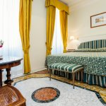 This is our classic double room with marble floor