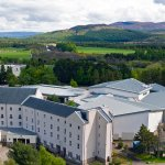 Aerial view of Macdonald Aviemore Resort