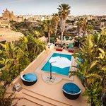 Pools and views at Thirty Seven Gozo