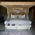 Our lovely luxury tent at Safari Garonga Camp