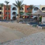 Strandabschnitt mit Lagune Bar