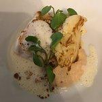 Cod-cauliflower-smoked almond