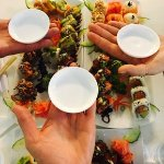 3 Sushi platters