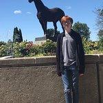 Man O War statue at the Kentucky Horse Park