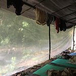Waking up after the first night next to the river - incredible.