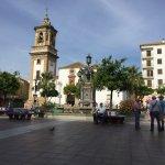Main square - Plaza Alta