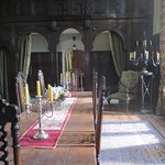 The Grear Hall at Chavenage dressed for Poldark