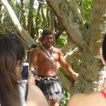 The coconut tree climber