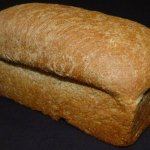 Baked fresh every morning. Homemade White & Wheat Bread