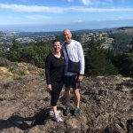 Our 25th anniversary on top of Mt. Finlayson