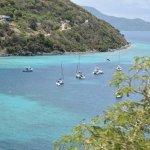 View of the bay moorings!