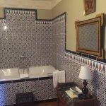 Andalusian Tiled bathroom