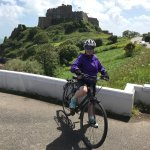 Arthur the Blue Badge Guide, cycling tour Jersey