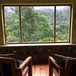 common sitting area at Casa Verde