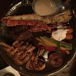 Lobster, Steak, & Shrimp