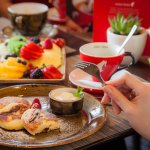 Breakfast Time in Acapella Restaurant