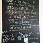 soup and lunch specials of the day