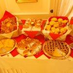 Breakfast buffet - sweet selection
