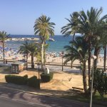 View of Poniente Beach from 2nd floor apt
