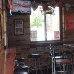 Small bar area