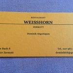 ภาพถ่ายของ Restaurant Weisshorn