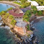 A bird's eye view of Paya Bay Resort