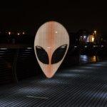 Alien visitor.