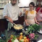 Explaining how to make pate a choux