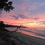 Fantastic sunset swimming :)