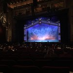 """Beautiful stage pre-show for """"The Book of Mormon"""""""