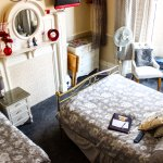 High view of room 4 luxury suite for up to 3 people