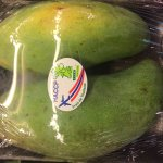President Hollande is green with envy for a taste of green mango
