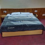 booked double bedded room. got specious room with 24 hour hot water