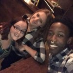 Me & the lovely Evelina & Issa (Piano Works staff)