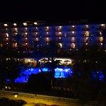 Estas eran las vistas que teníamos al hotel de enfrente.
